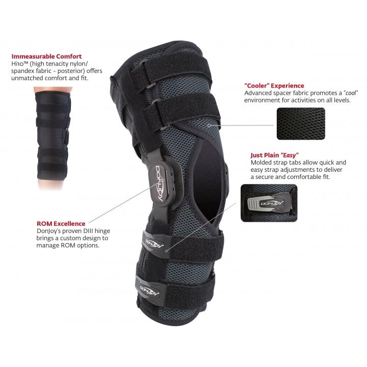 DonJoy Drytex Playmaker II Knee Brace