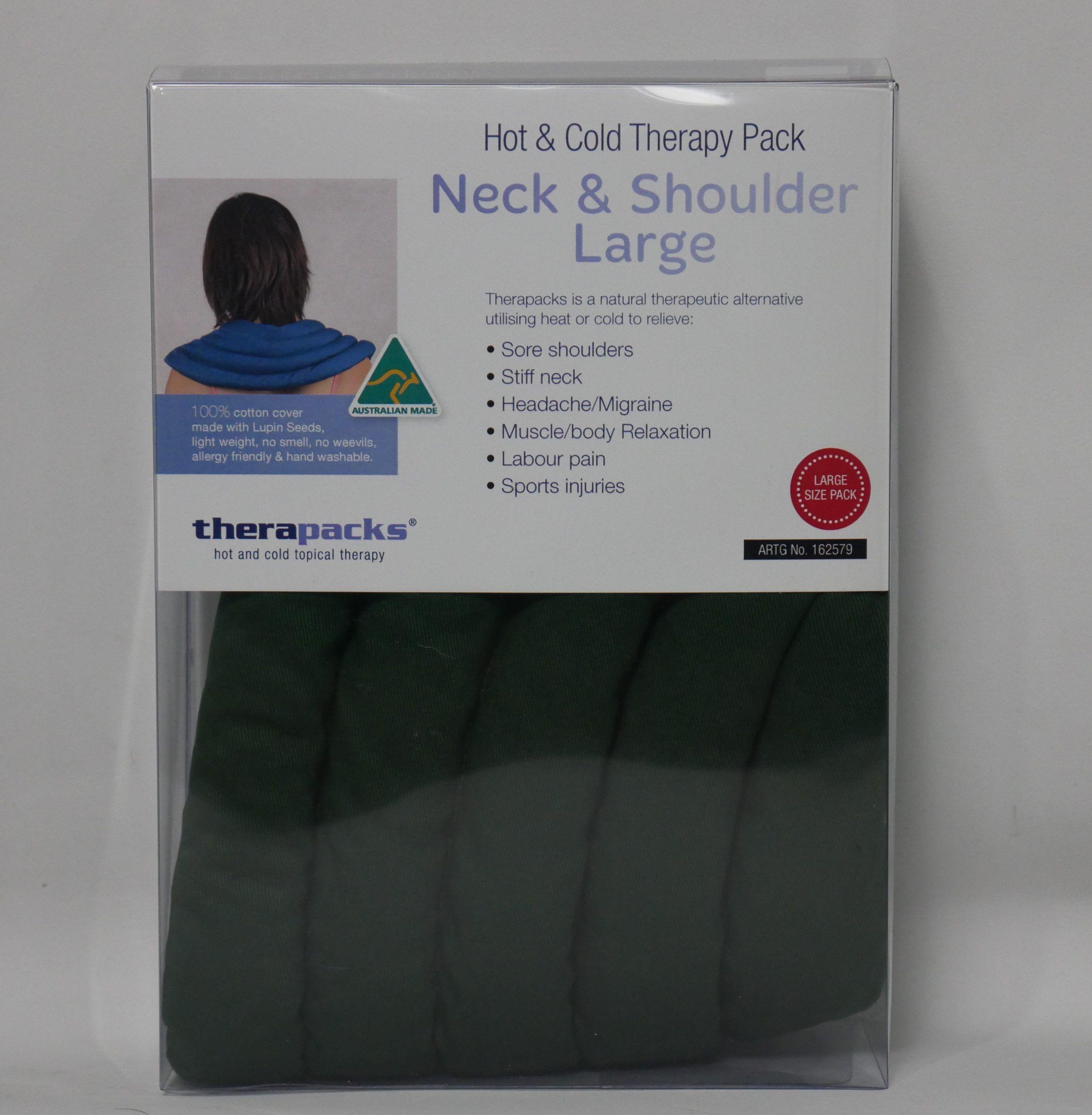 Neck and shoulder green