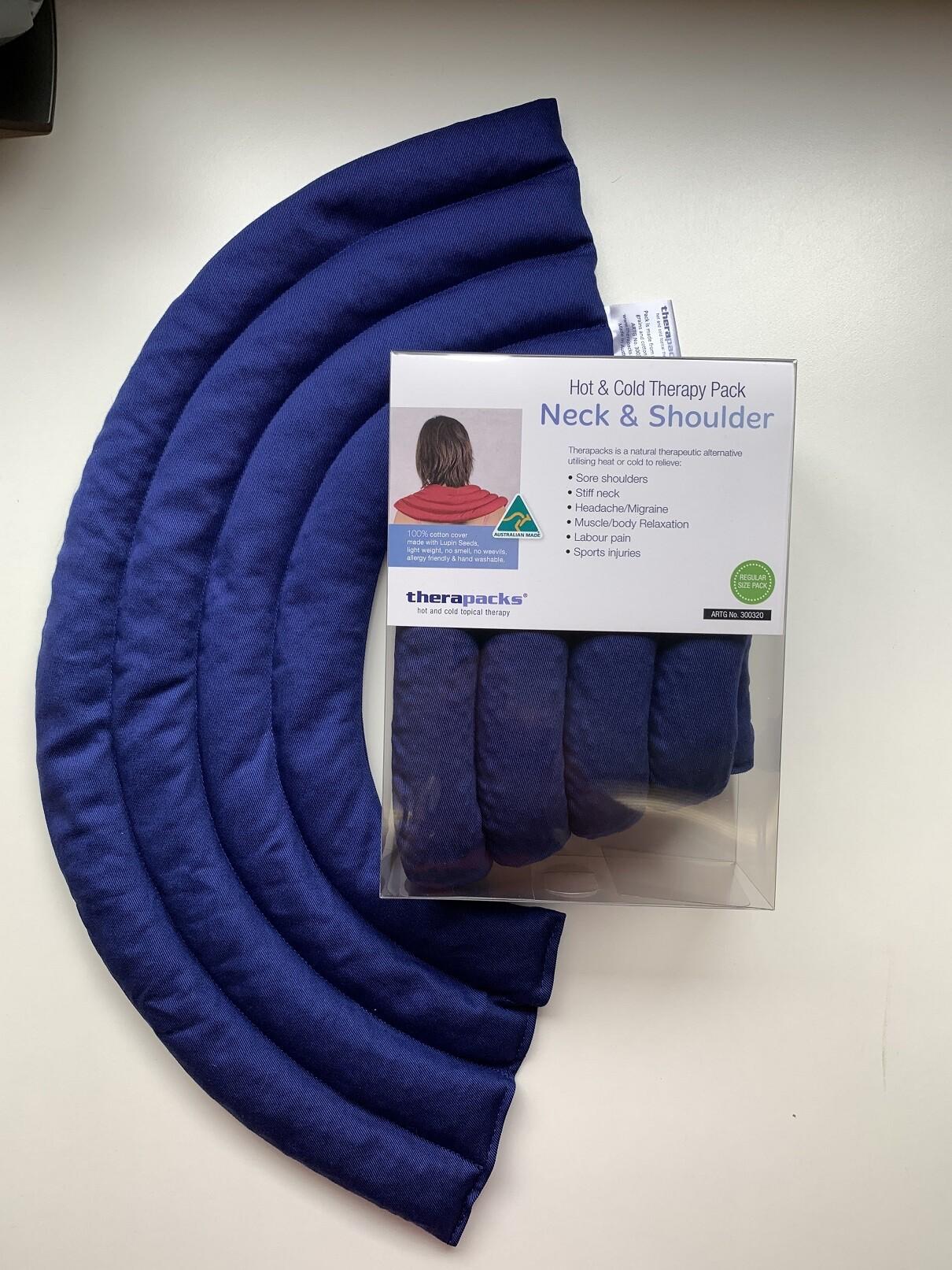 neck and shoulder reg blue