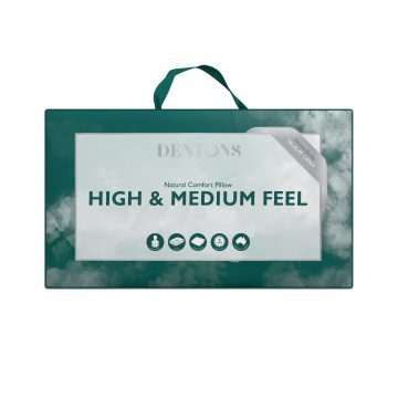 Dentons High Medium Pillows
